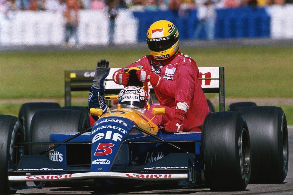 F1: Carona de Mansell a Senna em Silverstone completa 30 anos; relembre episódio