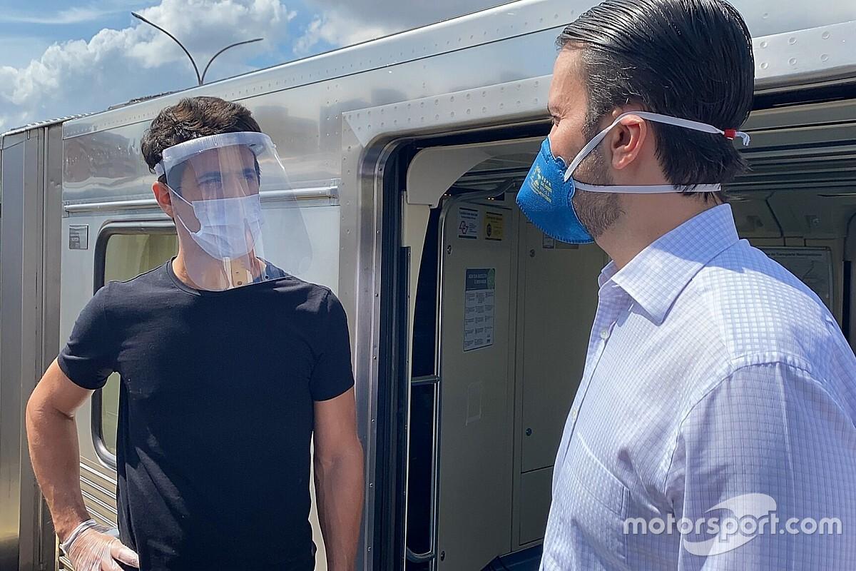 Di Grassi desenvolve equipamento de higienização rápida de transporte público