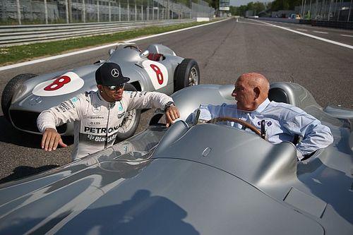 GALERÍA: cuando Moss y Hamilton rodaron en Monza