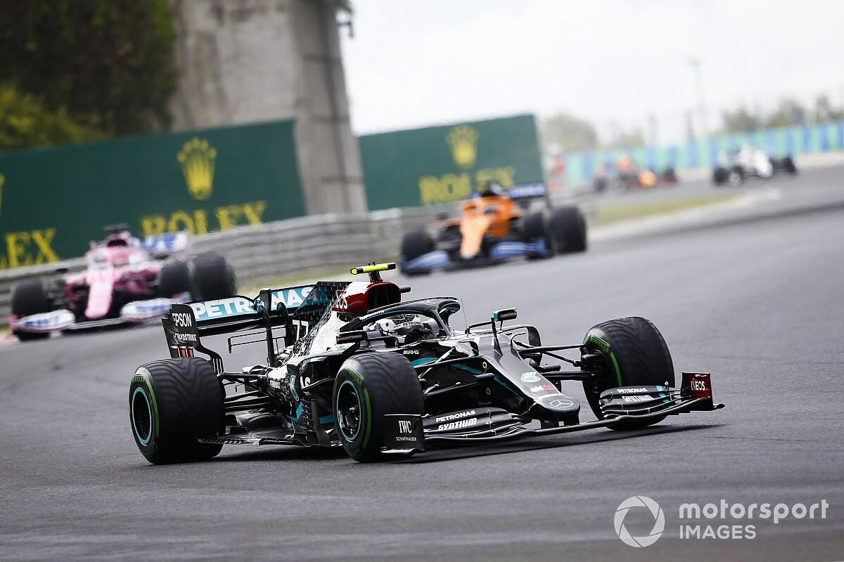 Bottas explains Hungarian GP start incident