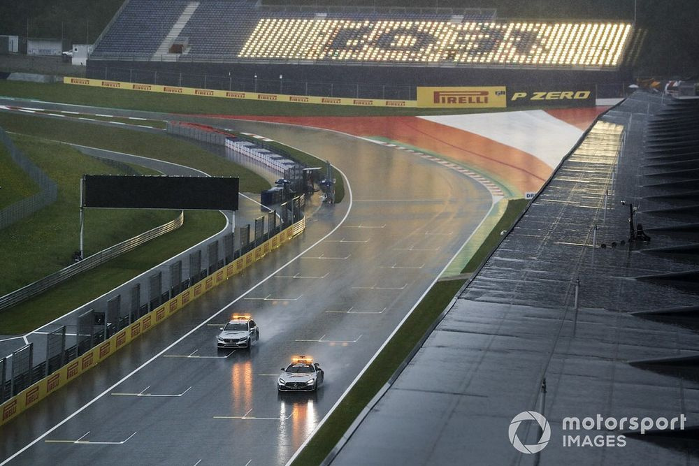 Final Styrian GP practice cancelled due to rain