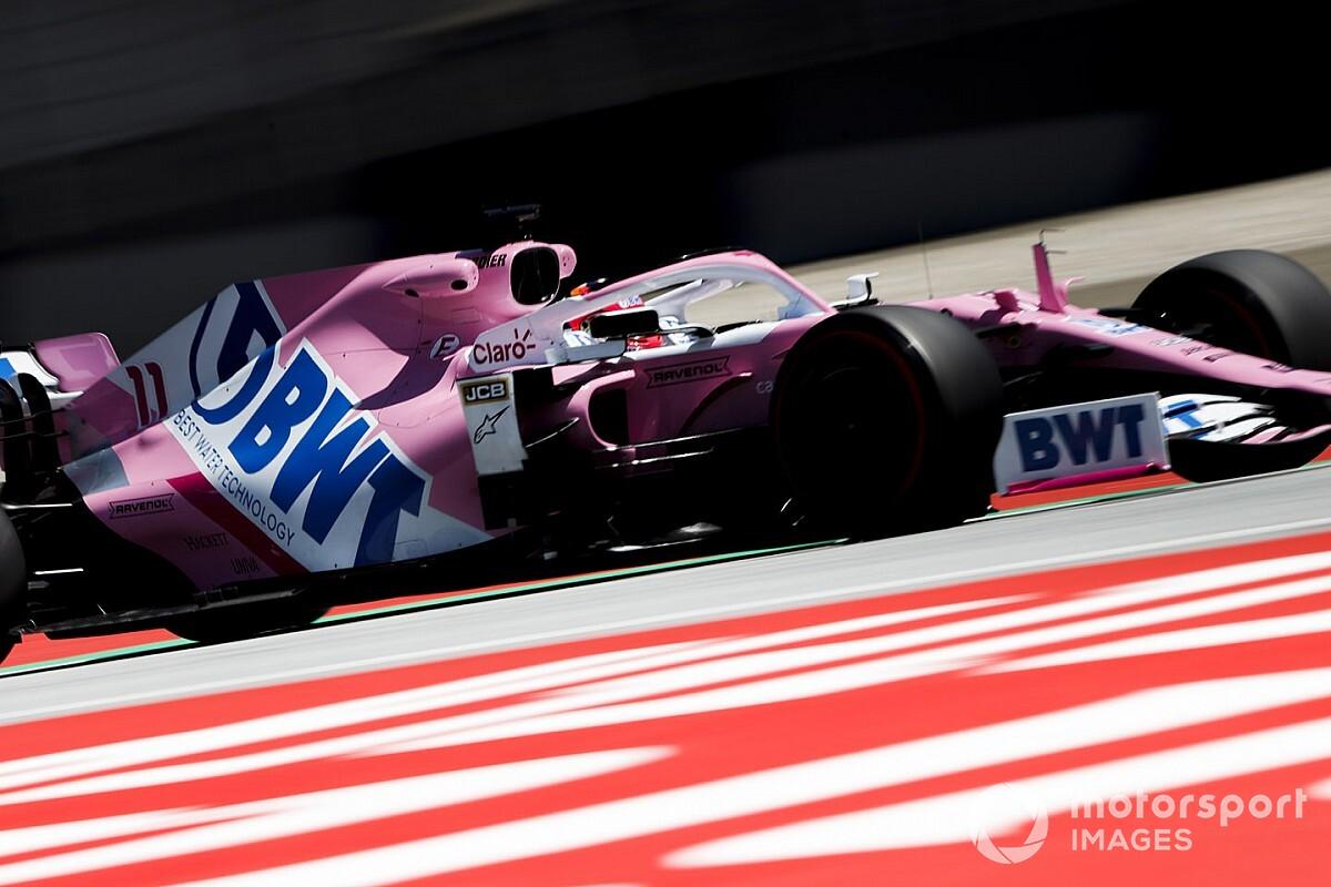 EL1 - Pérez entame en tête le tout premier GP de Styrie