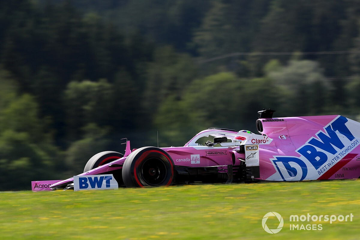 レーシングポイントはホンモノ? FP1首位のペレス「トップとの差は近い」