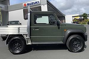 Suzuki Jimnyből készültek a világ legkisebb teherautói Új-Zélandon