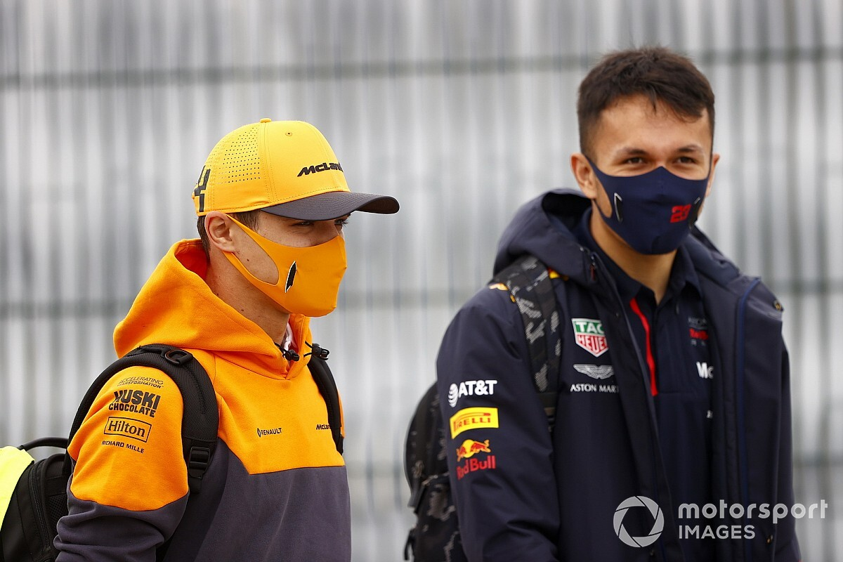 "Norris : Le sort d'Albon montre que la F1 est ""un monde cruel"""