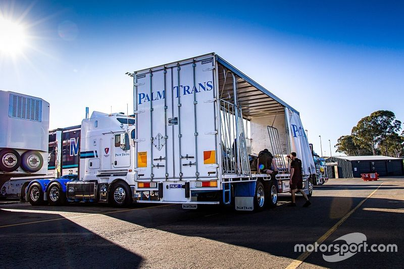 Supercars parts arrive over closed border