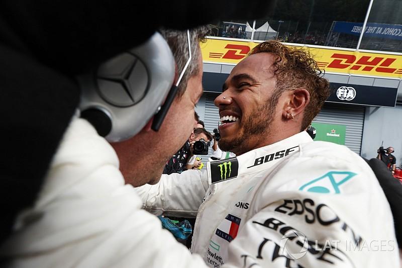 Las mejores imágenes del intenso GP de Italia 2018