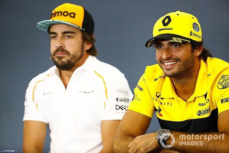 Bilan 2018 - Intérimaire chez Renault, Sainz remplace cette fois son héros