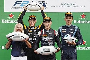Monza F2: Makino takes shock maiden win from 14th
