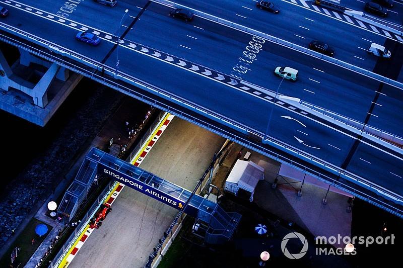 Formel 1 Singapur 2018: Die schönsten Bilder am Samstag