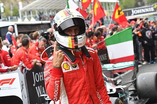 """Vettel: """"Un motore Ferrari così potente ci ha aiutato a vincere e sarà fondamentale in futuro"""""""