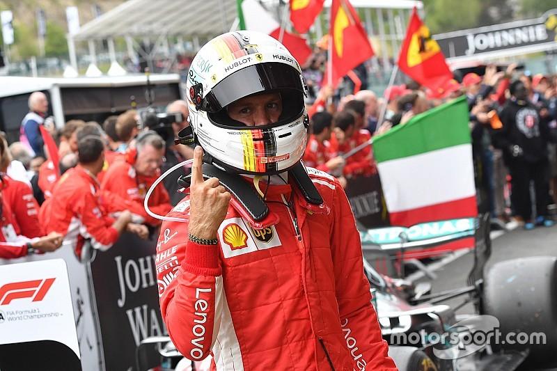 Vettel rasga elogios a novo motor Ferrari após vitória
