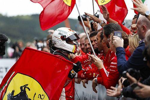 "Sebastian Vettel ""Piloto del Día"" en Spa"
