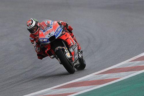 """Lorenzo: """"La Honda è forte sotto la pioggia, ma nel mio stato di forma attuale posso vincere anche io"""""""
