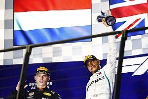 """Verstappen: """"¿Pasar a Hamilton? Solo era posible camino a la parrilla"""""""