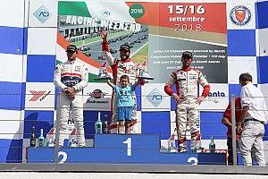 Andrea Gagliardini centra il primo successo in Gara 2 a Vallelunga