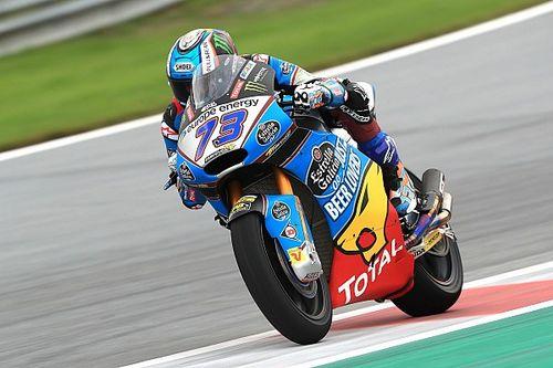 Moto2 Silverstone: Marquez snelste in vochtige tweede training