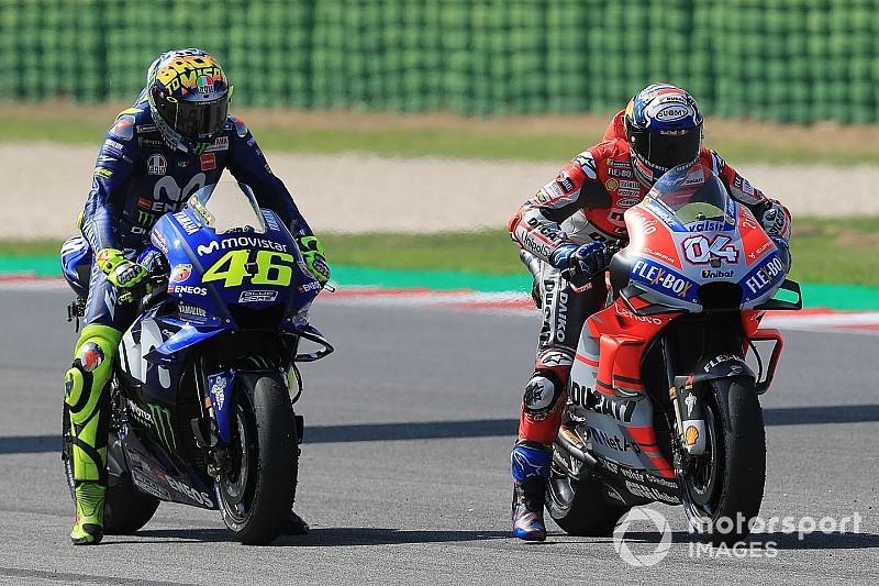 Rossi: Yamaha precisa copiar esforço da Ducati