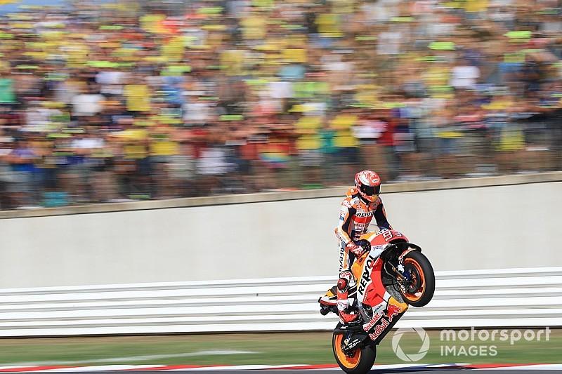 TABELA: Márquez aumenta vantagem e Dovi passa Rossi