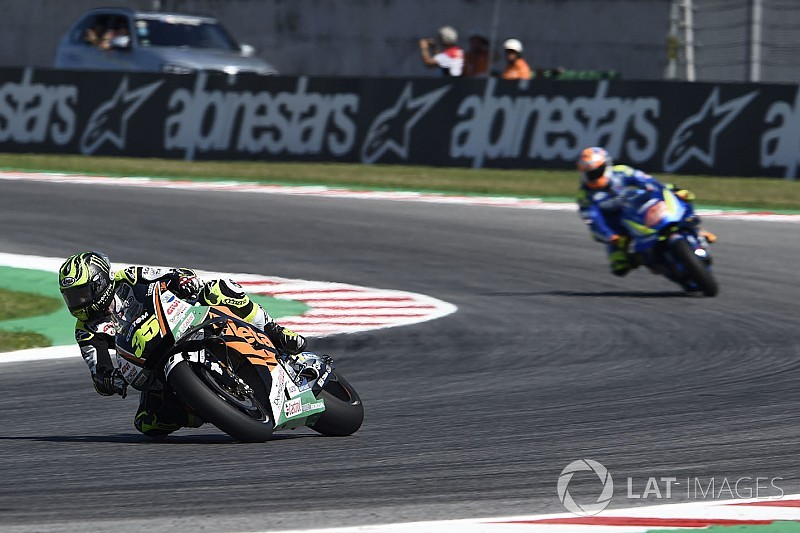 Crutchlow bewildered by Rins' Misano surrender