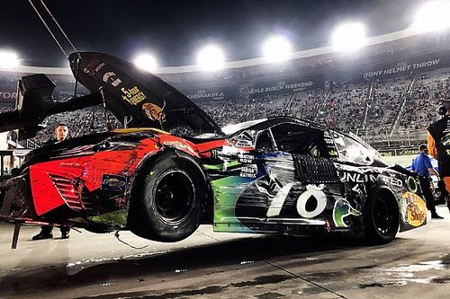 """Truex """"played too nice and got the crappy end of the stick"""""""