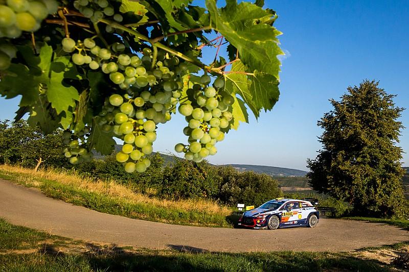 Les horaires de toutes les spéciales du Rallye d'Allemagne