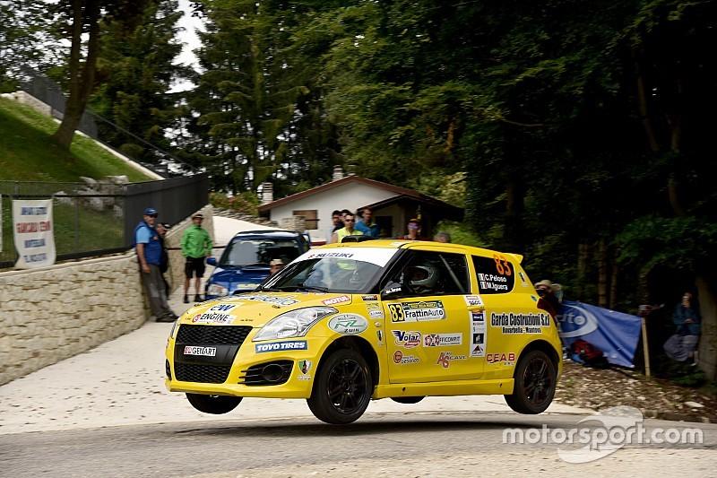 Suzuki Rally Cup: terza vittoria di seguito per Peloso e Iguera al Rally della Marca