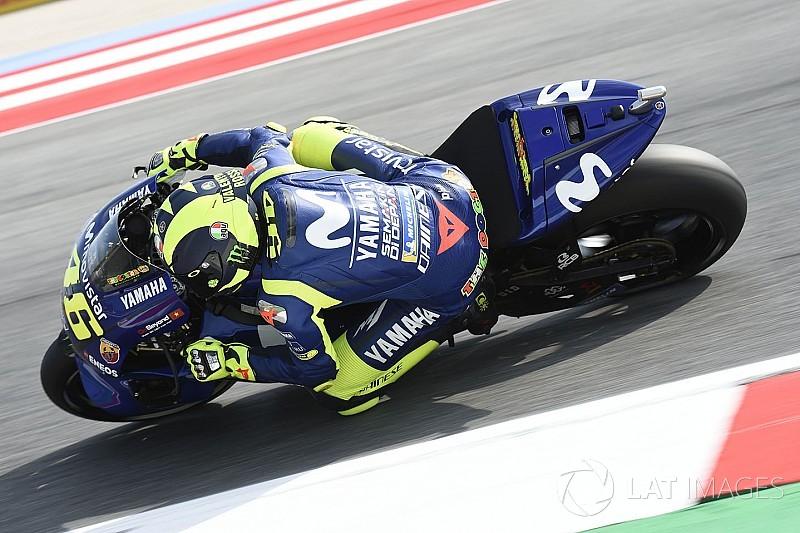 """Rossi: """"Pneu duro que usamos no teste agora não funciona"""""""