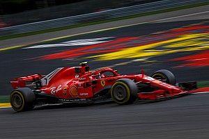 Raikkonen fue el mejor del viernes en Bélgica