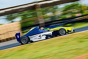 Coimbatore JK Tyre: Chatterjee dominates opener from pole