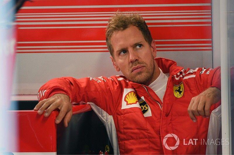 """Vettel: """"Aun tenemos potencial que sacar de este Ferrari"""""""