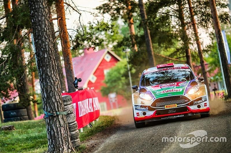 WRC2'de yarışan Bostancı sekizinci etapta şanssızlık yaşadı