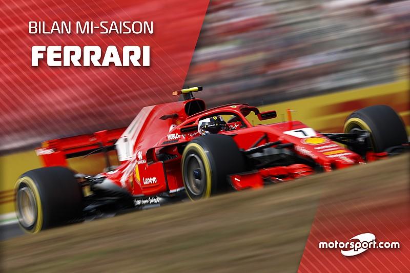 Bilan mi-saison - Ferrari encore plus proche du Graal