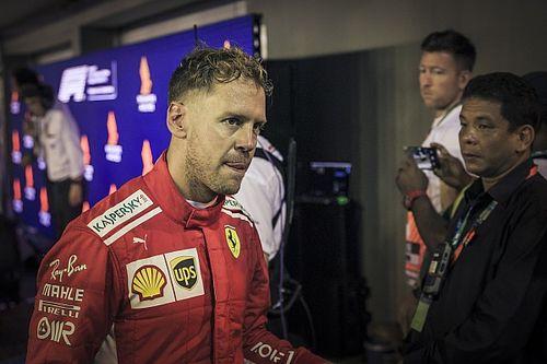 """Hakkinen: """"Vettel lijkt wat vertrouwen in Ferrari te zijn verloren"""""""