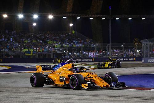 McLaren-Formel-1-Team schreibt 15 Millionen Euro Verlust im Jahr 2017