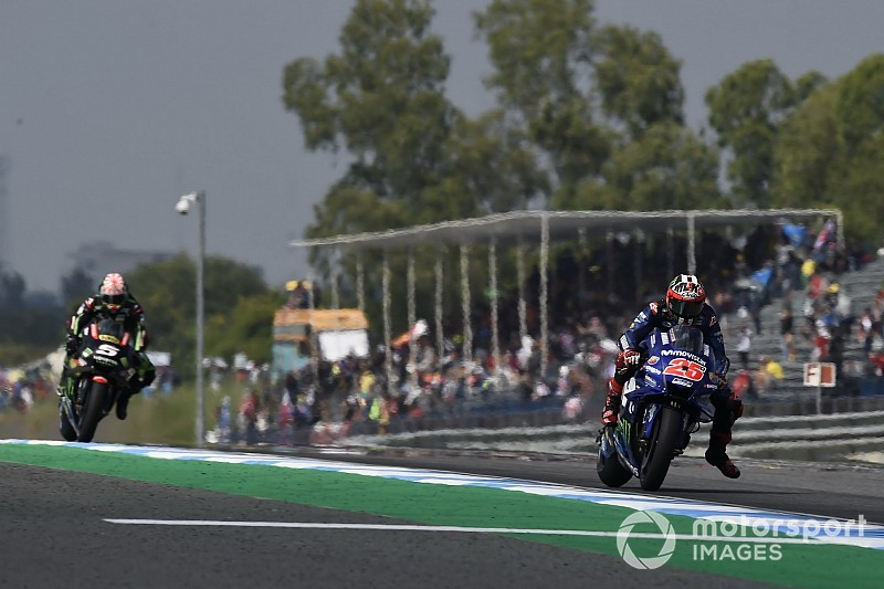 "Vinales: Thailand a return for ""normal Yamaha"""