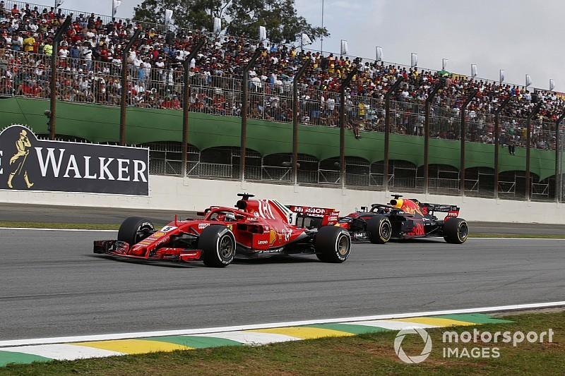 """Vettel dijo que el GP de Brasil: """"comenzó mal y terminó mal""""."""