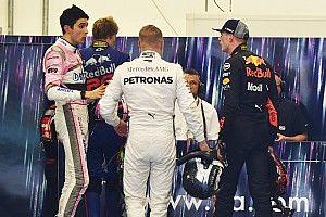 """VIDEO: Verstappen reclama al """"idiota"""" Ocon después del choque"""