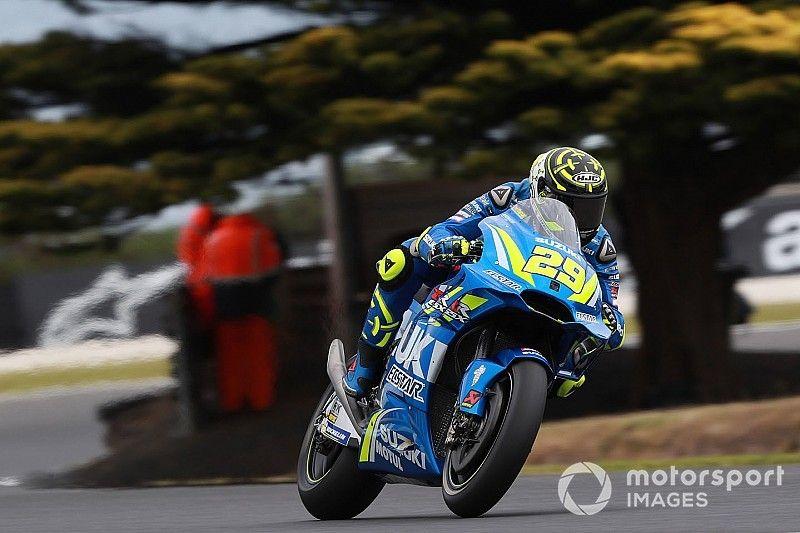 MotoGP FT3 in Australien: Andrea Iannone behauptet die Gesamtführung
