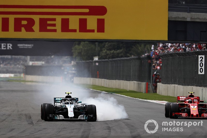 Bottas, Hamilton şampiyon olduğu için mutlu, Meksika GP'den mutlu değil