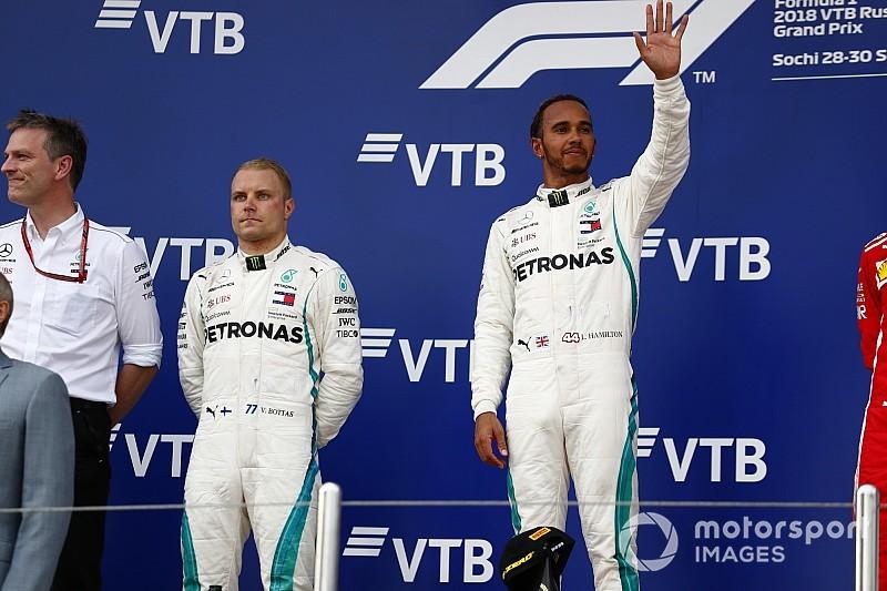 Bottas acepta y entiende las órdenes de equipo de Mercedes