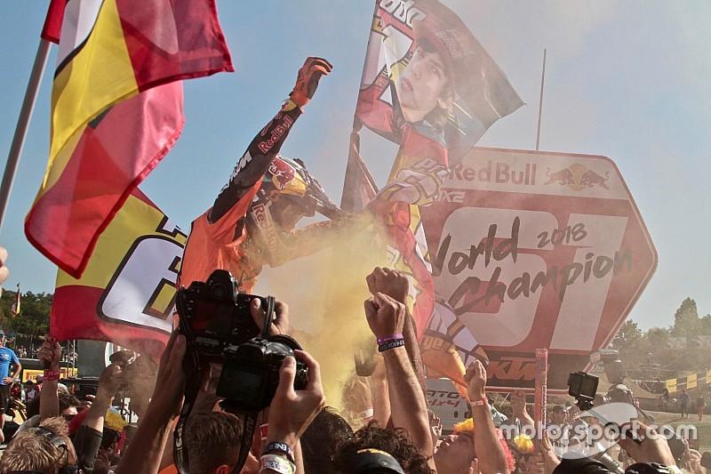 Prado celebra su título por todo lo alto en Imola