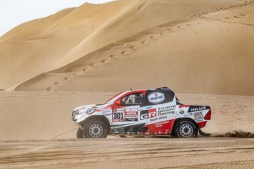 Al-Attiyah gana y solo un descalabro podrá evitar su tercer Dakar