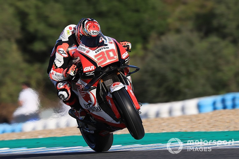 "Crutchlow's bike a ""really big improvement"" for Nakagami"