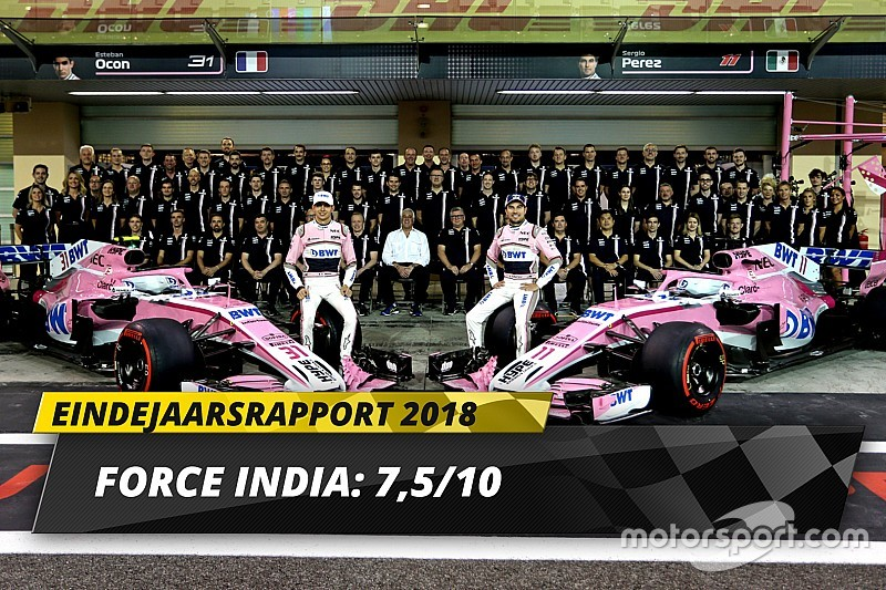 Eindrapport Racing Point Force India: Keurig herstel na overname