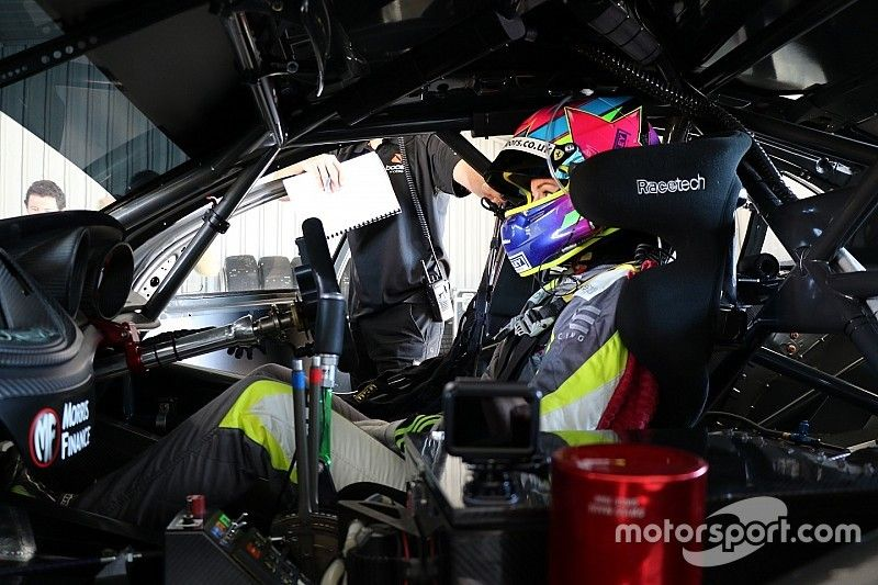 Eaton impressed with Supercars 'hustle' after maiden test
