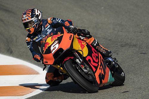 """Zarco """"inaugura"""" i test di Valencia: il francese debutta sulla KTM con il brivido..."""
