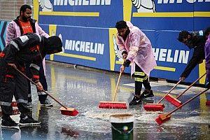 La primera práctica en Arabia Saudita cancelada debido a la lluvia