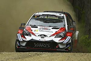 Vidéos - Toyota fête le titre constructeurs WRC en France!