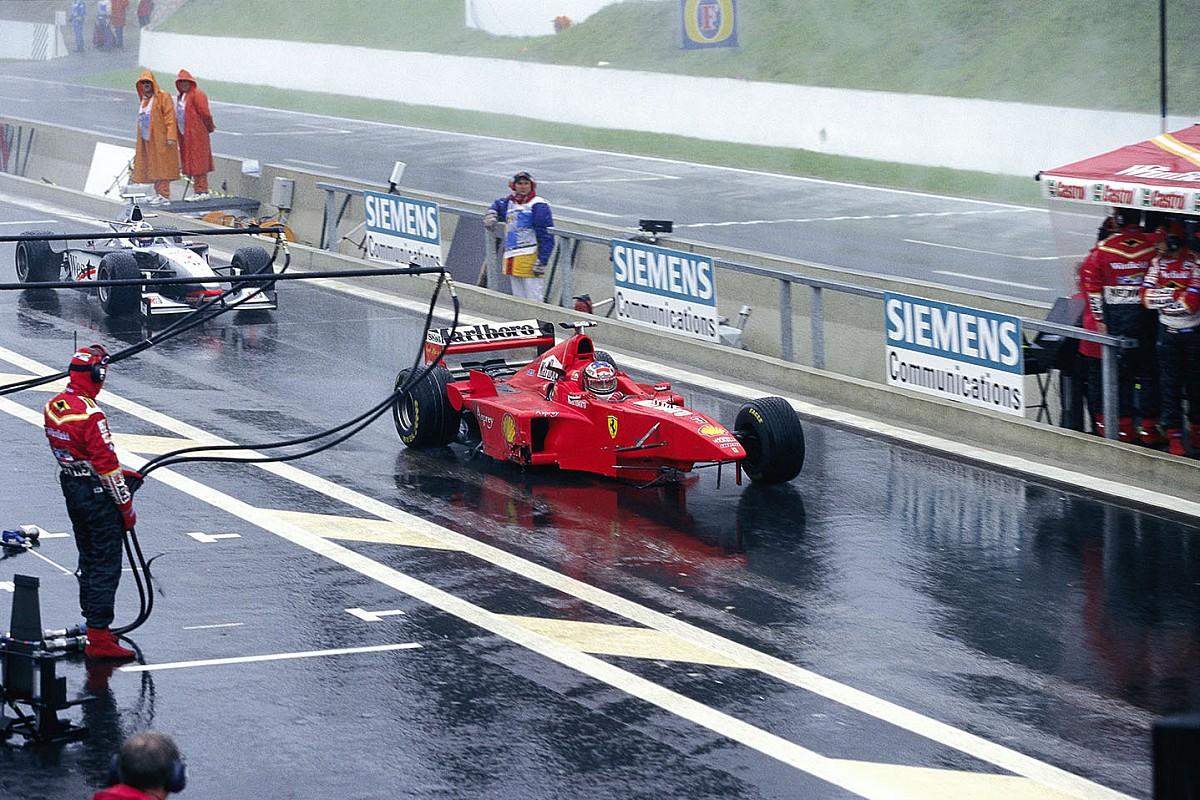 Ma este egy újabb nagy klasszikust vetítenek le az F1-ben: amikor Schumachernél betelt a pohár